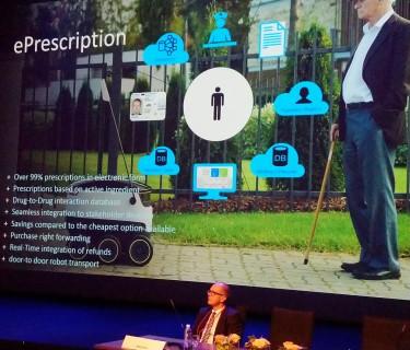 E preskripcia na Európskom sympóziu klinickej farmácie v Ľubľani okt